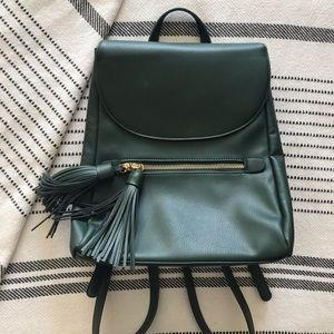 Medium Emerald Green Backpack